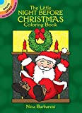 Nina Barbaresi: The Little Night Before Christmas Coloring Book (Dover Little Activity Books)