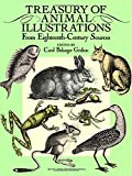 Grafton, Carol Belanger: Treasury of Animal Illustrations: From Eighteenth-Century Sources