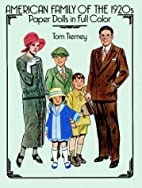 American Family of the 1920s : Paper Dolls…