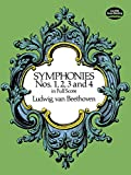 Beethoven, Ludwig Van: Symphonies Nos. 1,2,3 and 4 in Full Score