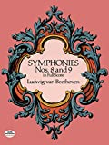 Ludwig Van Beethoven: Symphonies Nos. 8 and 9 in Full Score