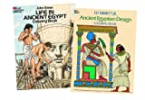 Green, John: In the Days of the Pharaohs: Two Educational Coloring Books