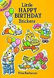 Barbaresi, Nina: Little Happy Birthday Stickers (Dover Little Activity Books)