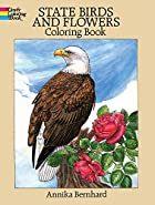 State Birds and Flowers Coloring Book by…
