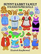 Bunny Rabbit Family Sticker Paper Dolls by…