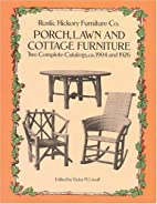 Porch, Lawn, and Cottage Furniture: Two…