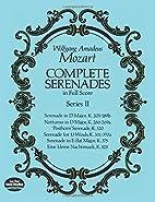 Complete Serenades in Full Score, Series II…