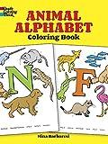 Nina Barbaresi: Animal Alphabet Coloring Book (Dover Coloring Books)