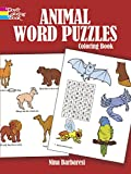 Barbaresi, Nina: Animal Word Puzzles Coloring Book (Colouring Books)