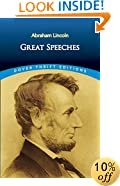 Abraham Lincoln: Great Speeches (Dover Thrift Editions)