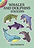 Nina Barbaresi: Whales and Dolphins Stickers (Dover Little Activity Books Stickers)