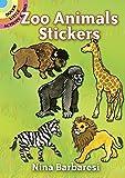 Nina Barbaresi: Zoo Animals Stickers (Dover Little Activity Books Stickers)