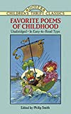 Robert Louis Stevenson: Favorite Poems of Childhood (Dover Children's Thrift Classics)