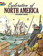 Exploration of North America Coloring Book…
