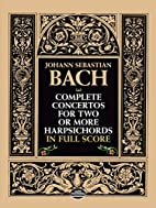 Complete concertos for two or more…