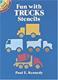 Kennedy, Paul E.: Fun with Trucks Stencils (Dover Little Activity Books)
