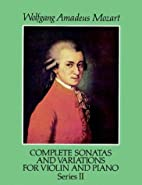 Complete Sonatas and Variations for Violin…