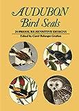 Audubon, John James: Audubon Bird Seals: 24 Pressure-Sensitive Designs (Dover Stickers)