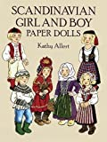 Allert, Kathy: Scandinavian Girl and Boy Paper Dolls