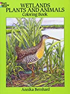 Wetlands Plants and Animals Coloring Book by…