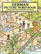 German Picture Word Book by Hayward Cirker