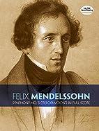 Symphony No. 5 by Felix Mendelssohn