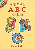 Animal ABC Stickers (Dover Little Activity…
