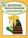 Orban-Szontagh, Madeleine: Egyptian Iron-On Tranfers (Dover Little Transfer Books)