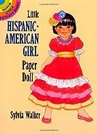 Little Hispanic-American Girl Paper Doll…