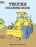 Steven James Petruccio: Trucks Coloring Book (Dover Design Coloring Books)