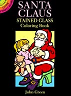 Santa Claus Stained Glass Coloring Book…