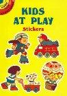 Dubin, Jill: Kids at Play Stickers (Dover Little Activity Books)