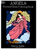 Noble, Marty: Angels: Stained Glass Coloring Book