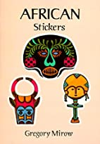 African Stickers: 24 Full-Color…