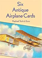 Six Antique Airplane Cards by Tuck & Sons