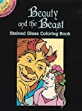Noble, Marty: Beauty and the Beast Stained Glass Coloring Book