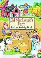 Old MacDonald's Farm Sticker Activity…