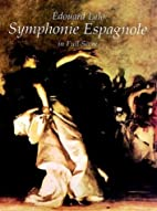 Symphonie Espagnole in Full Score by Edouard…