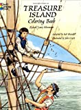 Stevenson, Robert Louis: Treasure Island Coloring Book