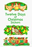 Noble, Marty: Twelve Days of Christmas Stickers
