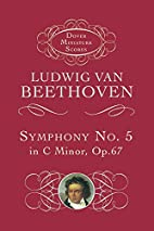 Symphony No. 5 in C minor [score] by Ludwig…