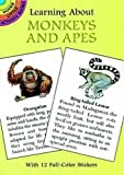 Sy Barlowe: Learning About Monkeys and Apes (Dover Little Activity Books)