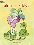 Marty Noble: Fairies and Elves (Dover Coloring Books)