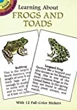Sy Barlowe: Learning About Frogs and Toads (Dover Little Activity Books)