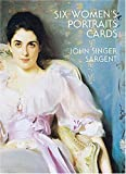 Sargent, John Singer: Six Women's Portraits Cards (Small-Format Card Books)