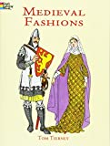 Tierney, Tom: Medieval Fashions Coloring Book