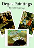 Degas, Edgar: Degas Paintings: 24 Full-Color Cards (Card Books)