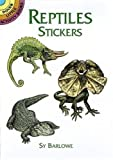 Sy Barlowe: Reptiles Stickers (Dover Little Activity Books Stickers)