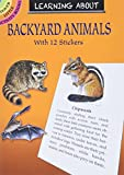Sy Barlowe: Learning About Backyard Animals (Dover Little Activity Books)