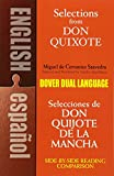 Miguel de Cervantes [Saavedra]: Selections from Don Quixote: A Dual-Language Book (Dover Dual Language Spanish)